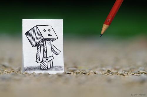 Pencil Vs Camera - 38 by Ben Heine