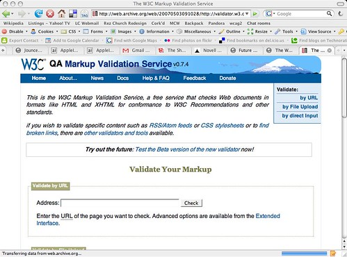 old-w3c-validator