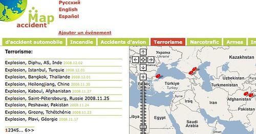 Accident sur la carte :Français: by you.