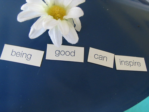 being good can inspire