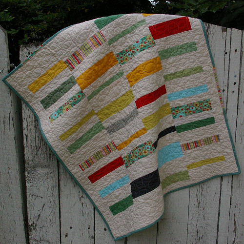 baby quilt for mom's friend