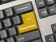 Keyboard - golden key Success por csitscenter