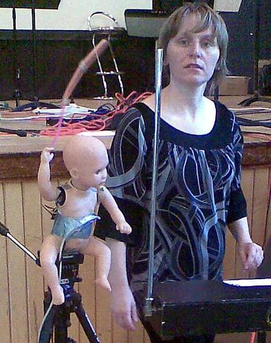Spacedog clara 2.0 theremin doll