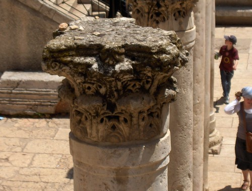Close-up of the Top of the Pillar