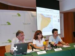 Presentació a Barcelona de l'estudi Catalunya Solar