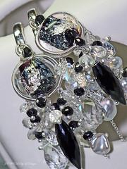 The CASA BLANCA Earrings by jewelsbyldesigns