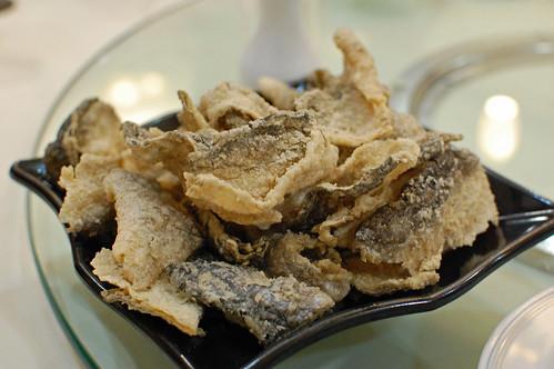 Crispy Fish Skin Hong Kong Style