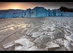 Warm Ice - Fjallsárlón, Iceland by orvaratli