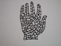 wire hand # 4