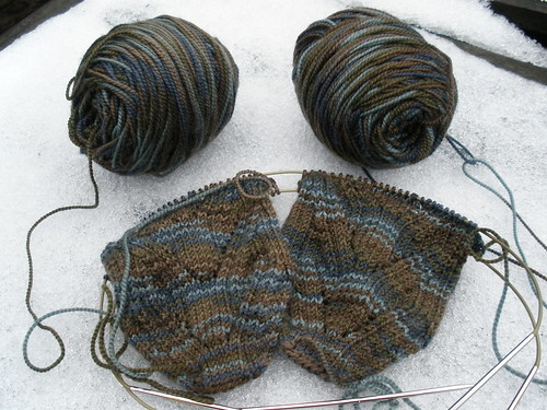 Tweedy socks