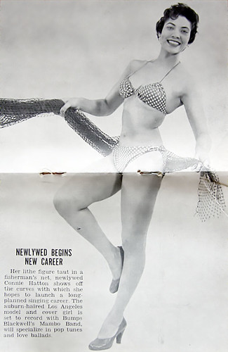 Newlywed Begins New Career - Jet Magazine Mar 31, 1955 by vieilles_annonces.