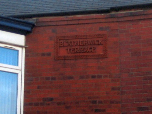 Blatherwick Terrace Sign, Lord Street, Redcar