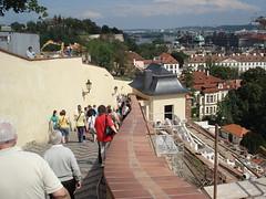 Prague Castle Steps