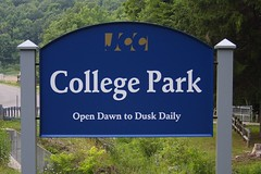 College Park Sign