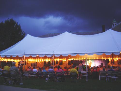 Chautauqua tent