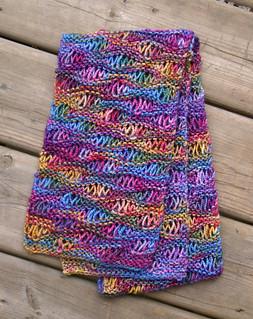 Drop stich scarf