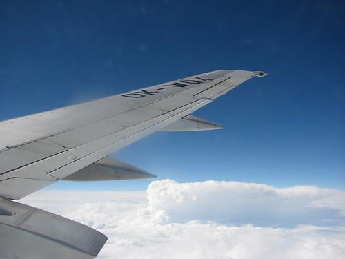 Volando a 33.000 pies
