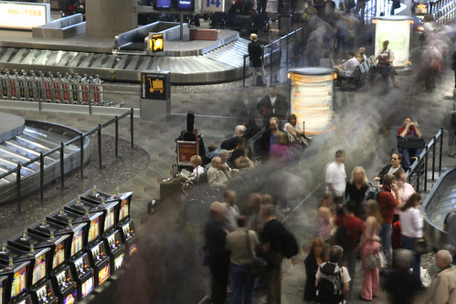 Gepäckausgabe in Las Vegas