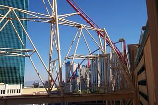 Roller Coaster at NYNY