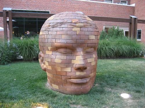 Giant Brick Head