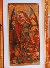 St Michael slaying a dragon