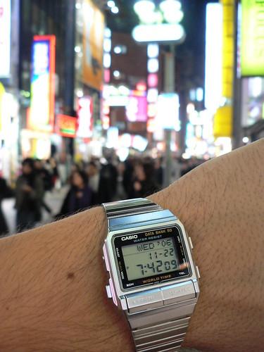 Reloj Casio de Pedro