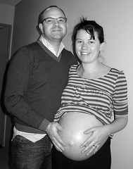 nath and me @ 39 weeks