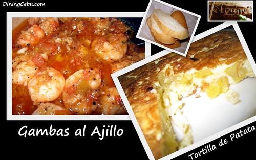 Philippines Food & Restaurant - Arano Spanish Restaurant in Cebu