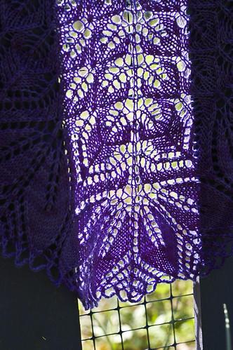 shawl middle
