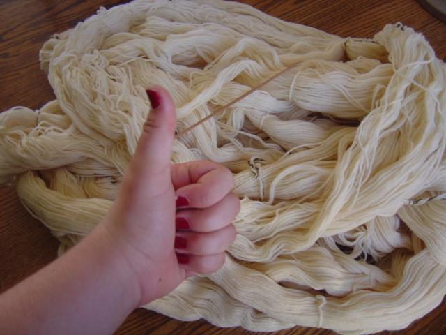 thrift store wool