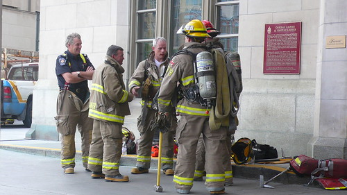Firies at Fairmont Chateau Laurier