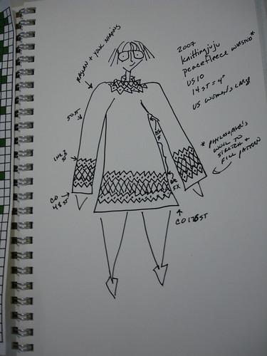 Peacefleece sketch