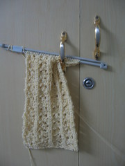 My first lace scarf - Front
