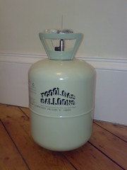 Helium canister