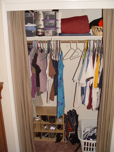 Our room - the closet.