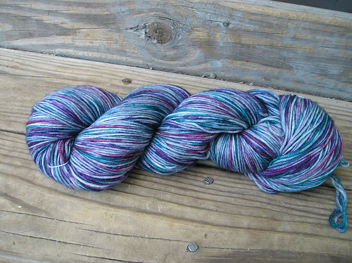 Hand Dyed Yarn - muted