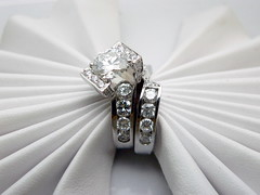 One of  a kind diamond engagement ring