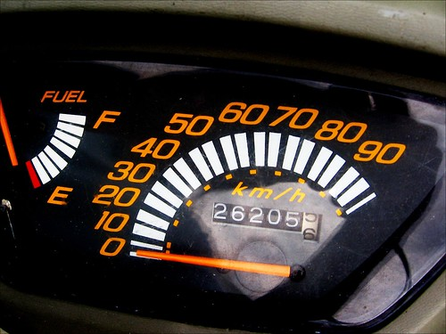 scooter dashboards