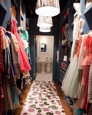 sexinthecity Carrie's closet