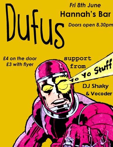 DUFUS flyer 2007