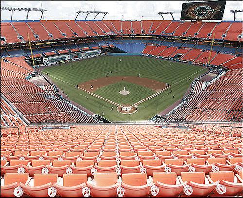 Dolphins Stadium - Marlins game attendance