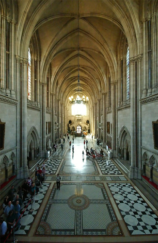 Royal Courts Of Justice - The Strand - London
