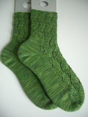 Finished Sockapalooza socks