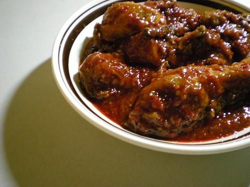 Bandong's ayam masak merah 1