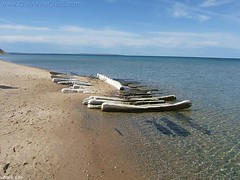 Washed ashore Empire MI beach by 1Cher