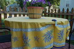 Provencal outdoor tablecloth from ... Provence