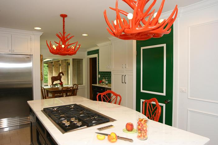 Orange Cottage by Civility Design