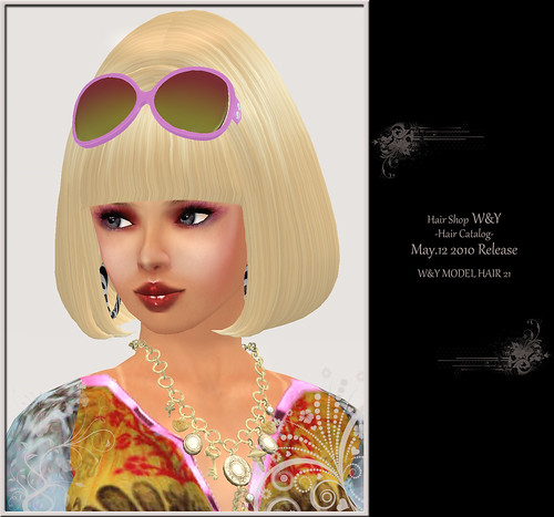 100512 W&Y MODEL HAIR 21