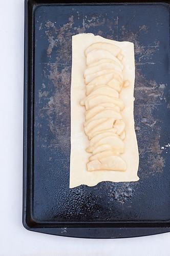 Pear, Honey & Ginger Slab Pie