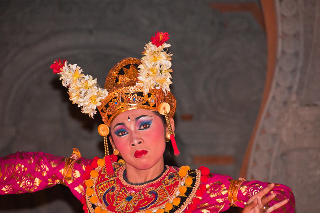 Balinese Temple Dancer